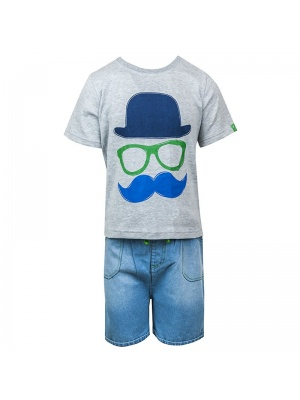 Little Gent Shorts & T-shirt