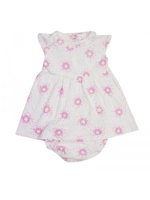 Pink/White Dress Set