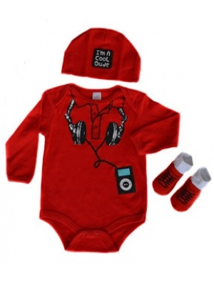 Baby Boys Outfit DJ