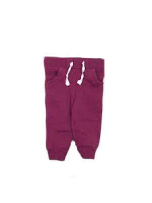 Baby Girls Purple Joggers