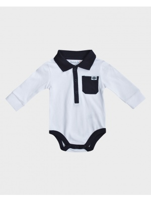 Polo Style body suit