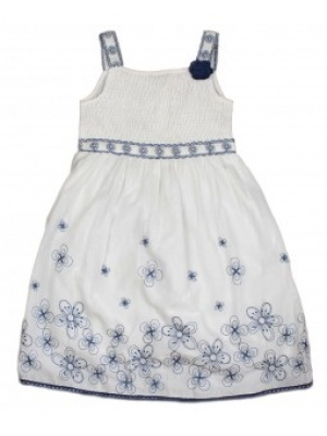 Chloe Louise Navy/White Dress