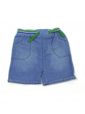 Little Gent Denim Shorts