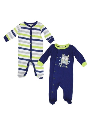 2 Pack Baby Grows Little Monster