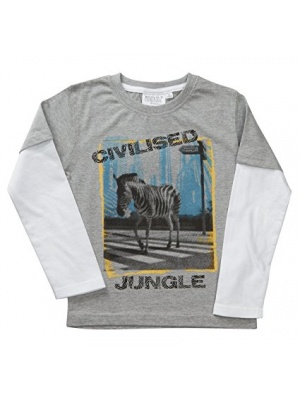 'Civilised' Long Sleeve Top