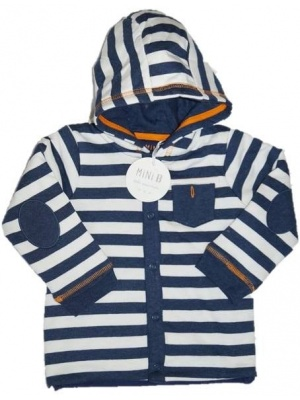 Striped Hooded Jumper