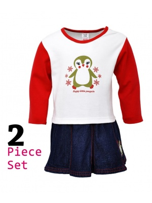 Penguin Top & Skirt
