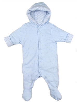 Blue Star Padded Pram Suit