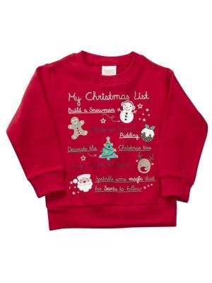 My List Christmas Jumper