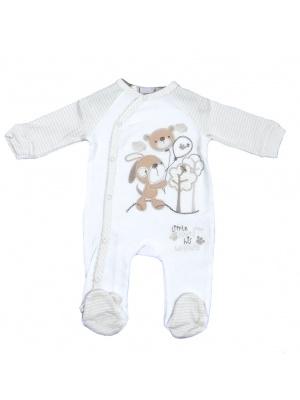 Bear & Puppy Babygrow