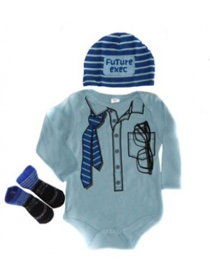 Baby Boys Outfit Businessman