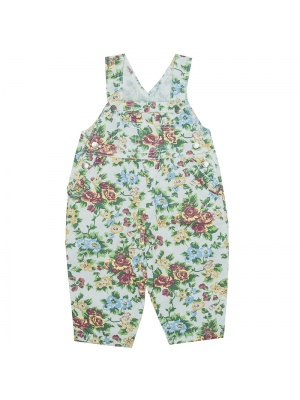 Floral Dungaree