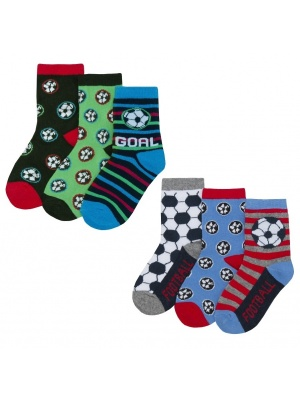 6 Pack Football Socks