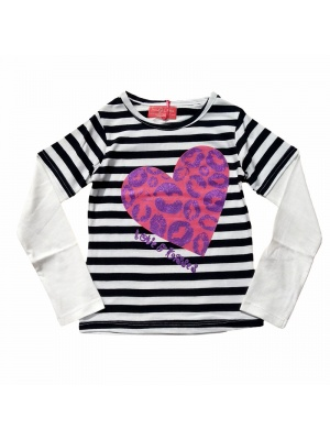 Funky Diva Heart Top