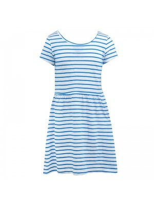 Baby Blue Stripe Dress