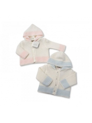 Knitted Baby Hooded Cardigan