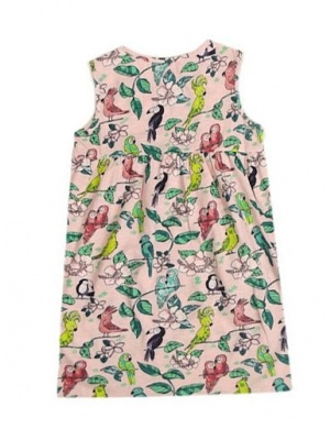 Parrot Jersey Dress