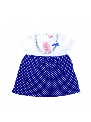 Spotted Bodysuit Dress