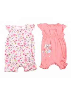 Flower Romper 2 Pack