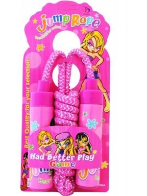 Girls skipping rope