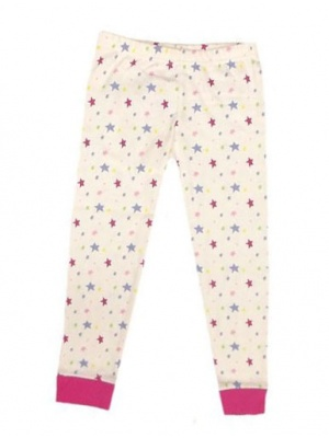 Star Print Pj Bottoms