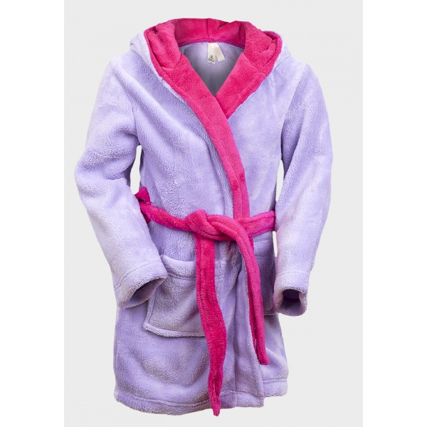 Girls Lilac Dressing Gown
