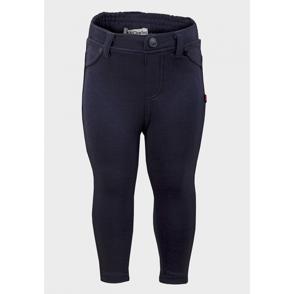 baby girl trousers & leggings Stock up on trousers and leggings for baby girls this season. Stretch jeans and jersey leggings are ideal for play days while leggings with integral feet are perfect for new arrivals.